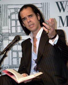 Making his point - Nick Cave: By David Shankbone