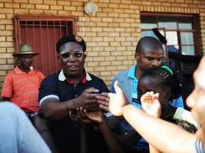 12/01/2012: Suspended ANCYL president Julius Malema delivered a lecture in memory of Epraim Mogale at a Primary School named after the late COSAS leader in Uitvlugt outside Mable Hall town in Limpopo. He encouraged the youth that filled the tent to aquire