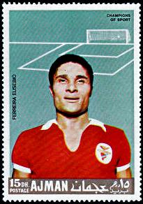 Ajman_1968-09-15_stamp_-_Eusébio_da_Silva_Ferreira