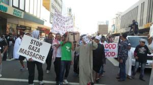 Gaza Protest Coffin