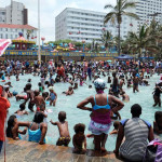 New Year celebrations. Durban. 2016