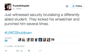 disabed student