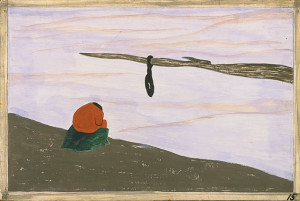 Jacob Lawrence, The Migration of the Negro, panel no. 15, 1940–41