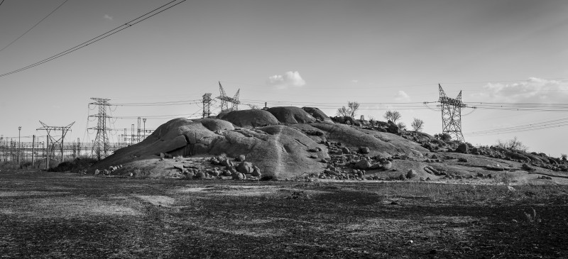 The koppie in Marikana which served as a focal point for the 2012 protests which resulted in the massacre of 34 miners on the 16th of August, 2012. Picture: Daylin Paul 2017