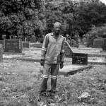 Grave Digger, Vereeniging Cemetery: By Warren van Rensburg